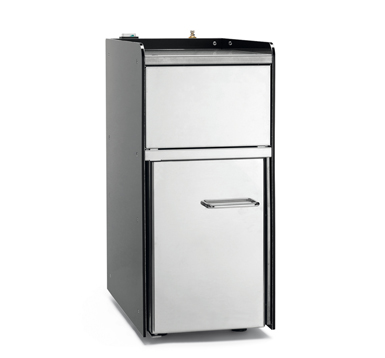 Q10 refrigerated unit with the cold frothed milk function