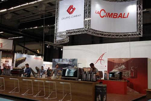 Cimbali booth