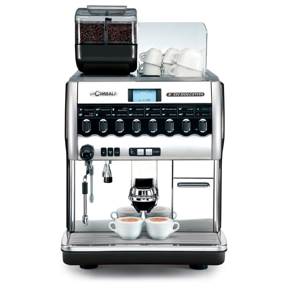s54 dolcevita superautomatic espresso machines la cimbali. Black Bedroom Furniture Sets. Home Design Ideas