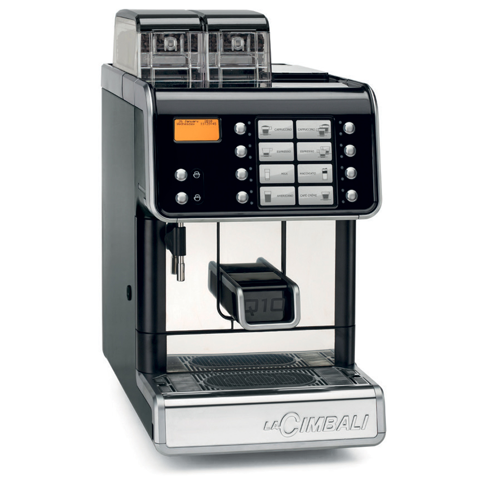 q10 superautomatic espresso machines la cimbali. Black Bedroom Furniture Sets. Home Design Ideas