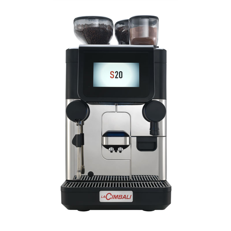 s20 superautomatic coffee machine la cimbali. Black Bedroom Furniture Sets. Home Design Ideas